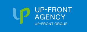 UP-FRONT agency 新ロゴ サイドバナー用