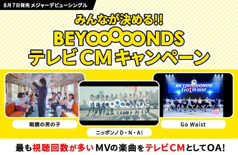 みんなが決める!! BEYOOOOONDSテレビCMキャンペーン