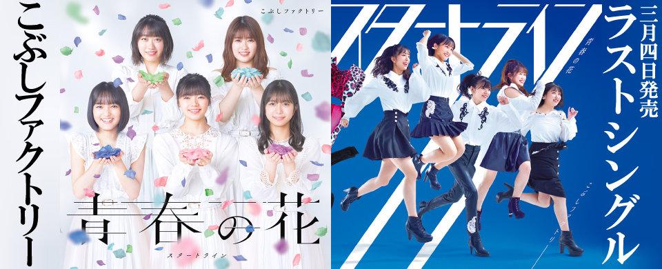 【UFW】こぶしファクトリー2020年3月4日発売シングル「青春の花/スタートライン」