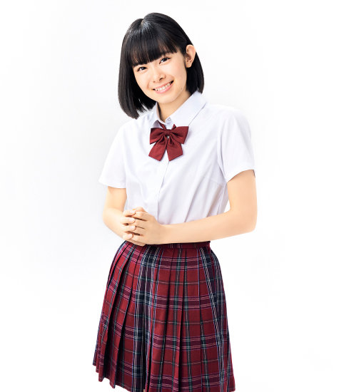 山﨑夢羽さん|BEYOOOOONDS:プロフィール|ハロー!プロジェクト オフィシャルサイトより引用